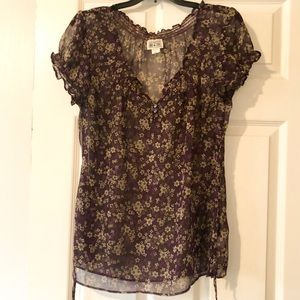 Mossimo floral blouse